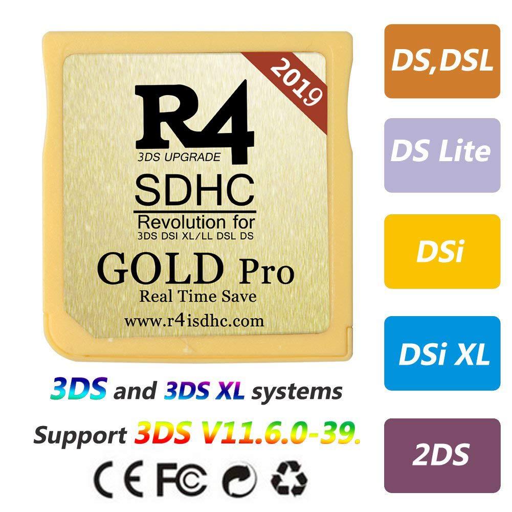 2019 Micro R4 SDHC DS - DS Lite - Dsi - Dsi XL - 3 DS / New ...