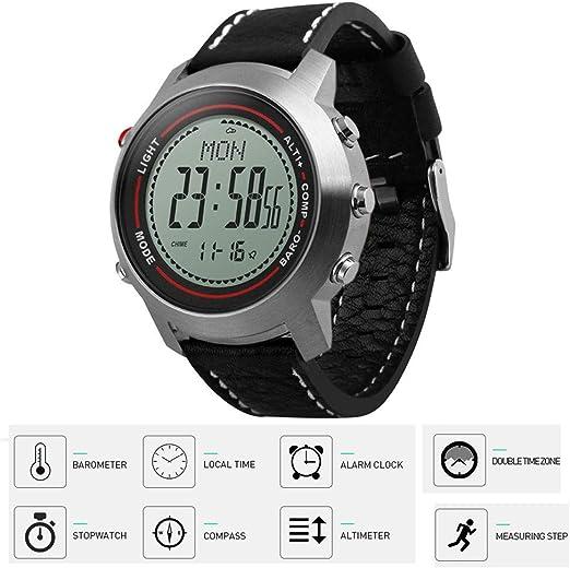 Four Reloj Digital Mens Fitness Tracker 30m Impermeable podómetro ...