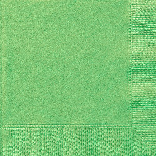 (Lime Green Paper Napkins, 50ct)
