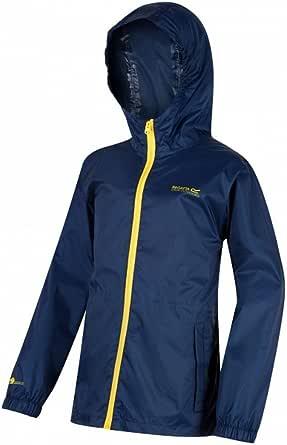 Regatta Kid Pack It Jacket III Waterproof Breatherbale Lightweight Durable Water Repellent Taped Seams Packs Away Chaqueta Beb/é-Ni/ños