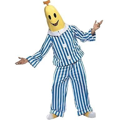 GoldBucket Unisex Adult Banana In Pajamas Costume (S B1)  sc 1 st  Amazon.com & Amazon.com: GoldBucket Unisex Adult Banana In Pajamas Costume (S B1 ...