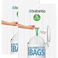 Brabantia - Bolsa de basura 23-30 Liter (G) (80 Stuck)