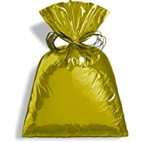 Saco Para Presente Cromus Embalagens com Acabamento Metalizado na Cor 45x59 cm com 25 Unidades, Cromus Embalagens
