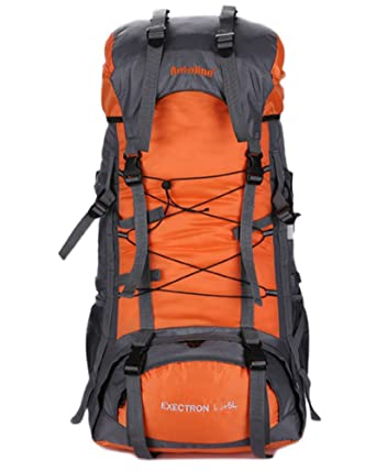 Minetom 70L Unisex Multi Functional Outdoor Hiking Rainproof Water  Resistant Travel Backpack Camping Cycling Sports Rucksack 464320bcf9afc