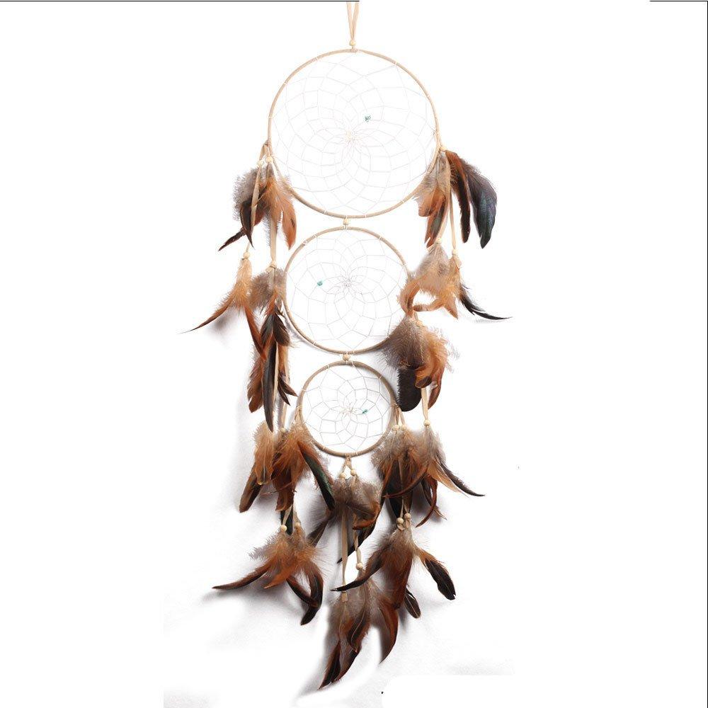 最上の品質な 3円disginインドスタイルドリームキャッチャーと羽根の壁Decor B075BJXXGN Hanging Hanging DecorationドリームキャッチャーHourse装飾 Hanging Hanging B075BJXXGN, ピアス ルクール:cbf1d182 --- arcego.dominiotemporario.com