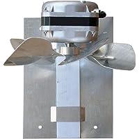 Exaustor para Churrasqueira ITC 12cm Safanelli 220V Inox