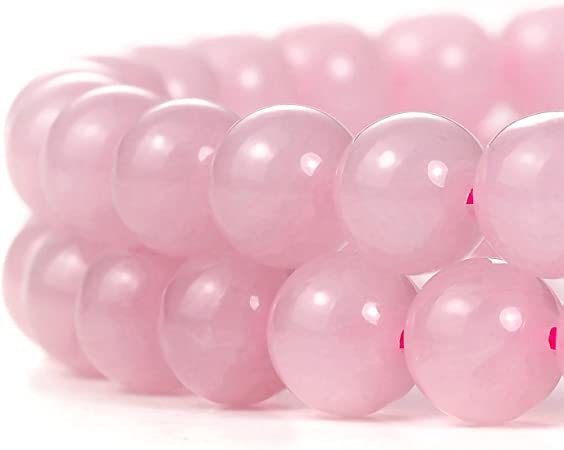 8 x 5 mm Gemstone Beads 77 beads A Quality Full Strand 16 Natural Rose Quartz Rondelle Beads