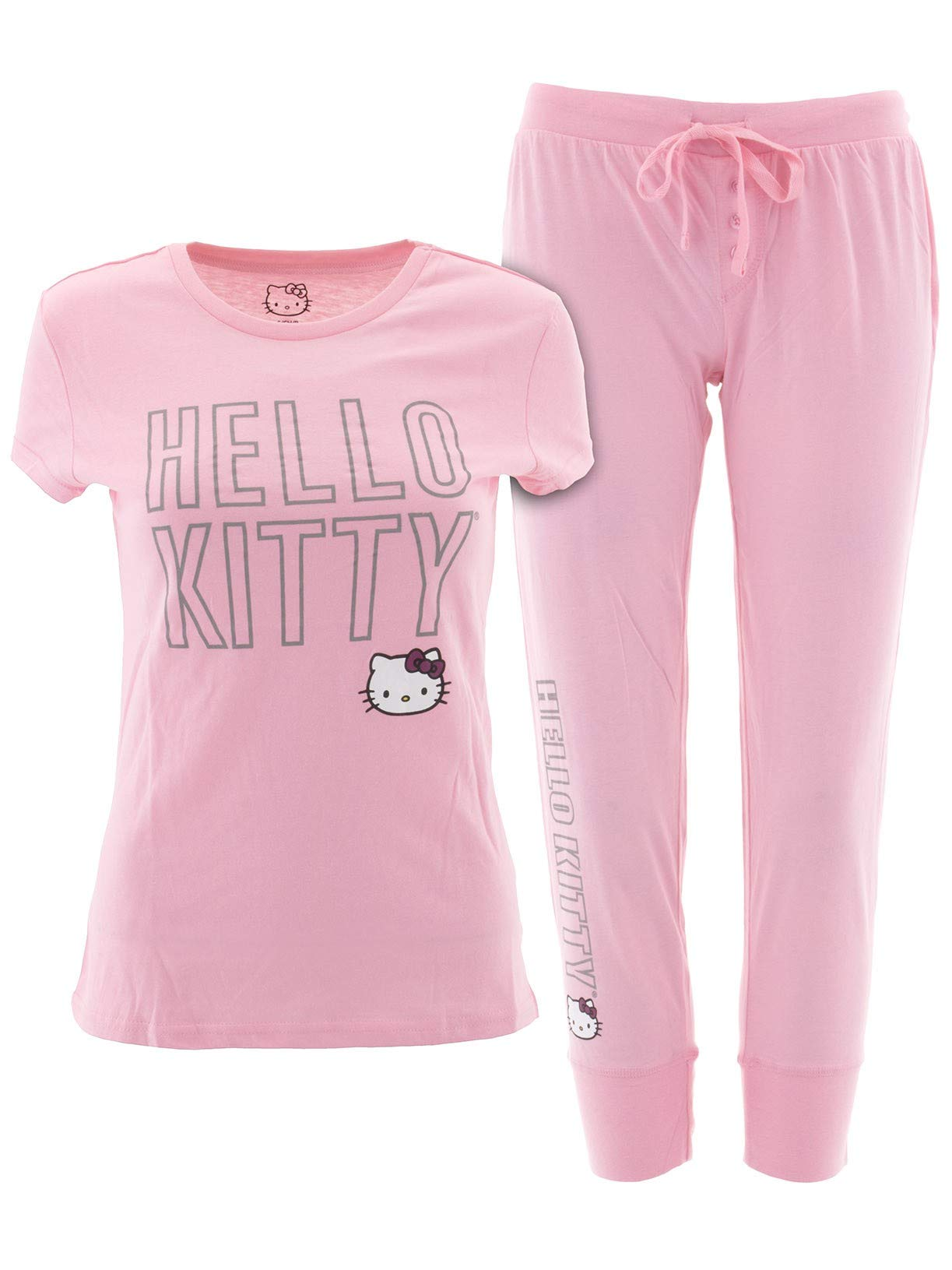 Hello Kitty Juniors Pink Pajamas M