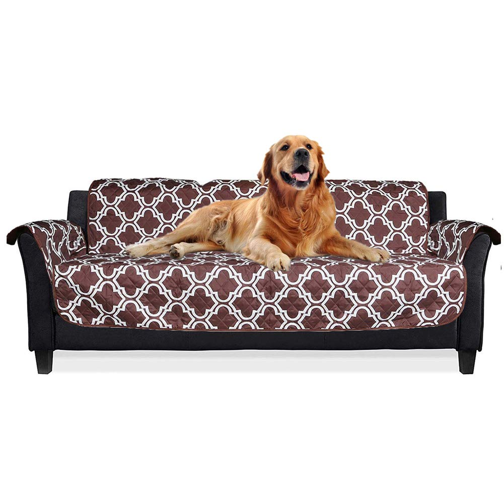 Darkcoffee sofa Darkcoffee sofa Reversible Quilted Furniture Predector,Sofa Slipcover,Darkcoffee,sofa