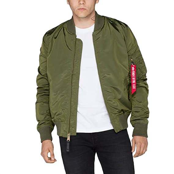 44a5f429c Alpha Industries Jacket MA-1 TT Long