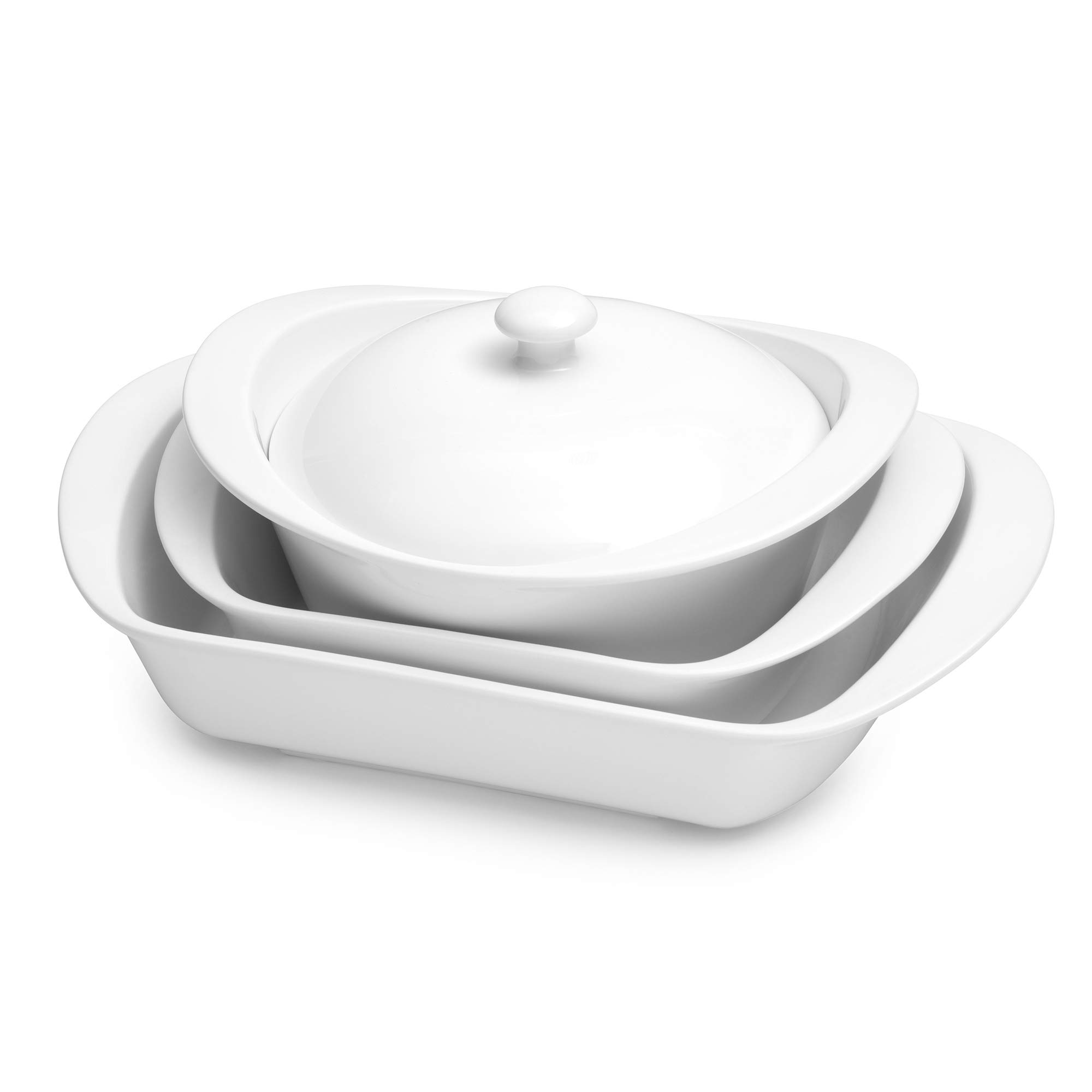 Certified International 89665 7 Piece Porcelain Set Cookware, Bakeware, Cooking Accessories, White by Certified International (Image #2)