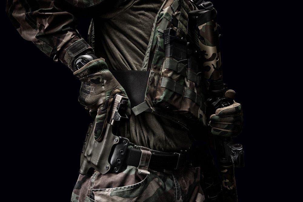 Mechanix/ color X-Large tama/ño extra-large /Guantes FastFit Guantes camuflaje de bosque