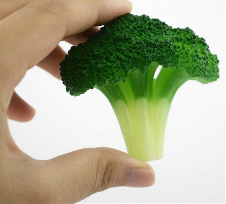 Skyseen 人工野菜ブロッコリ模型 6個入り 偽物 カプリ下 写真小道具 家庭 キッチン キャビネット 装飾 工芸品 B07GVB78J9