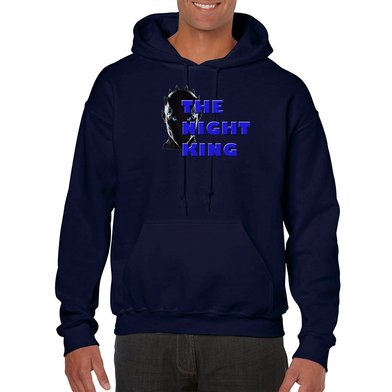 Mens Printed Amusing Hoodies-Knight King-Game of Thrones Funny top