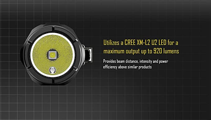 Amazon.com: NiteCore MT10A CREE XM-L2 LED Flashlight 920 Lumen: Sports & Outdoors
