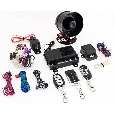 K9 MUNDIAL-6 1-Way Security System: Car Electronics