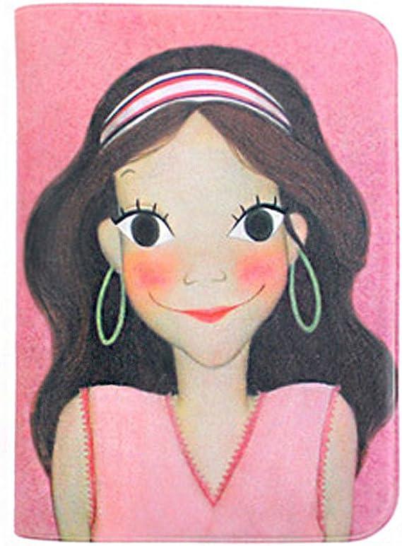 YOUK SHIM WON Character Passport Cover Holder