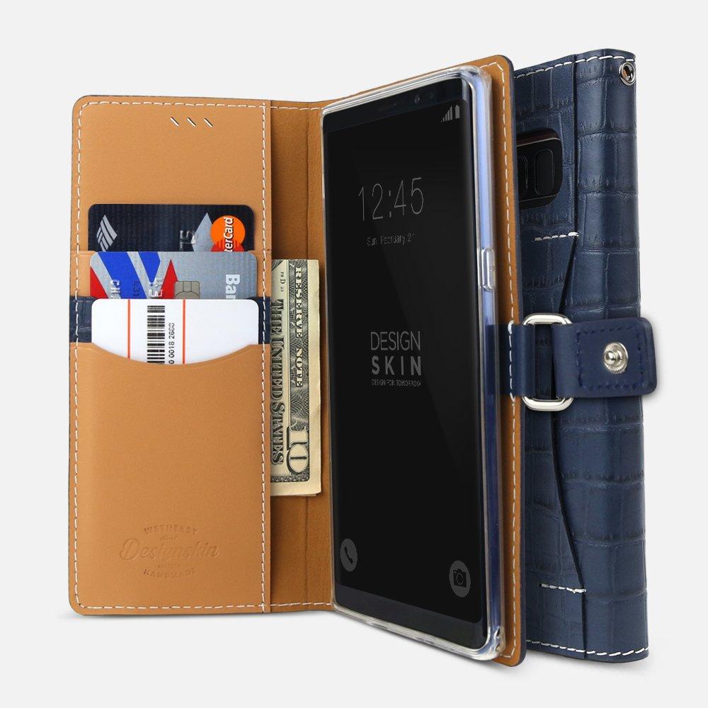 Amazon.com: Galaxy Note 8 Funda de piel, designskin [Epi ...