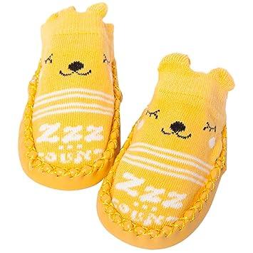 d6a7d6a74f69d MyMei ベビーソックス ベビシューズ 靴下 綿 赤ちゃん ルームシューズ 滑り止め付き かわいい プレゼント 出産