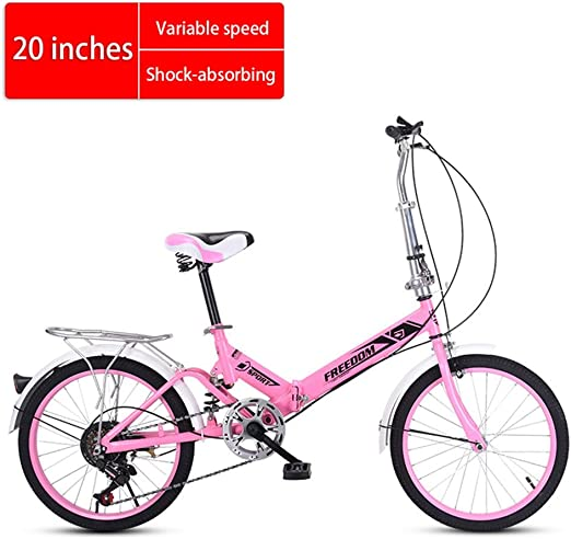 Bicicleta plegable Mini absorción de velocidad en bicicleta adulta ...