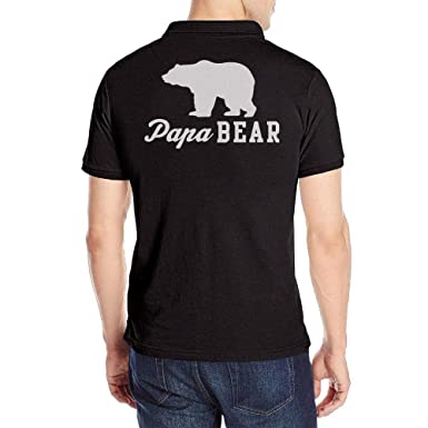 kfghtr Mens Papa Bear Short-Sleeve Polo T Shirt: Amazon.es: Ropa y ...