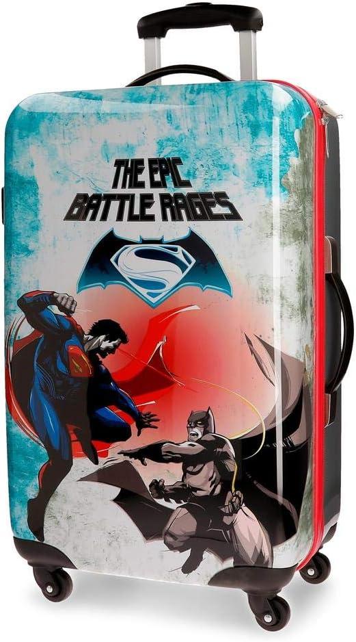 Trolley Abs 67cm.4r.Superman & Batman