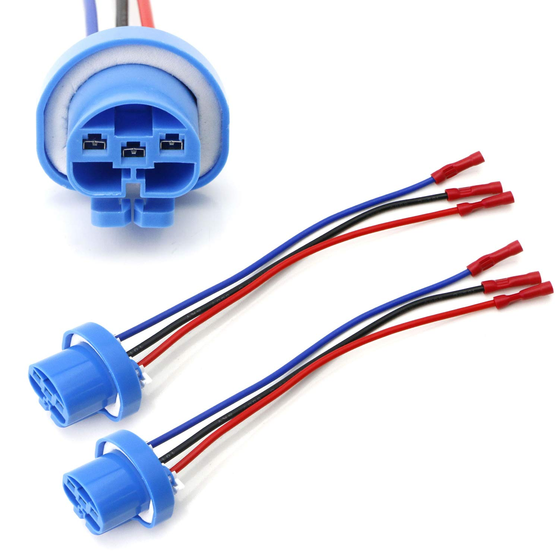 Amazon.com: iJDMTOY Pair 9004 9007 HB5 3-Wire Headlight Plug ... on amc amx wiring harness, jeep electrical wiring schematic, jeep commander wiring harness, jeep radio wiring harness, 2005 jeep wiring harness, jeep grand wagoneer wiring harness, jeep cj5 wiring harness, mazda rx7 wiring harness, jeep 4.0 wiring harness, jeep grand cherokee stereo wiring, 2001 jeep wiring harness, jeep cherokee speaker wiring, jeep jk wiring harness, pontiac bonneville wiring harness, jeep wiring harness kit, jeep patriot wiring harness, jeep transmission wiring harness, jeep trailer diy, jeep cherokee wiring from firewall, geo tracker wiring harness,