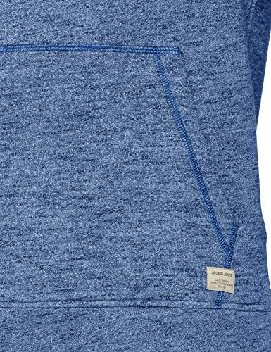 Detail Noos Sweat nautical Fit Jones Blu Blue Jjepanther amp; Melange Jack Uomo Hood Reg Felpa qwBXPXZS