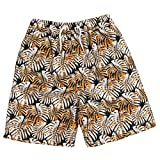 Cargo Bay Infant Boys Bermuda Swim Shorts Perfect for Summer Beach Holidays Orange 3-4 Years