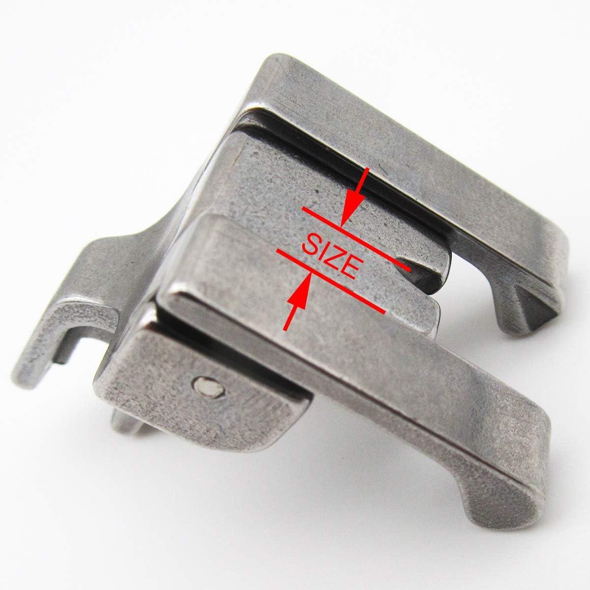 kunpeng/ /# CD 1pcs doble compensaci/ón top-stitching pie prensatelas para m/áquinas de coser Industrial