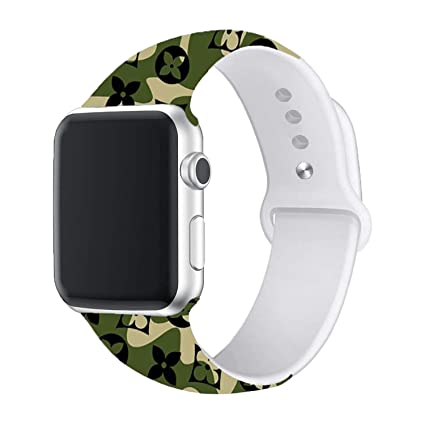 Amazon.com: Correa deportiva compatible con Apple Watch 44 ...