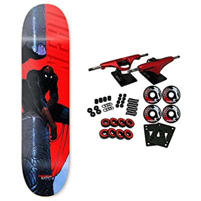 "Primitive Skateboard Complete Moebius Marvel Neal Spiderman 8.0"" : Sports & Outdoors"