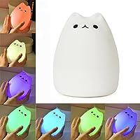 KssFire Portable Cute Kitty LED Children Night Light