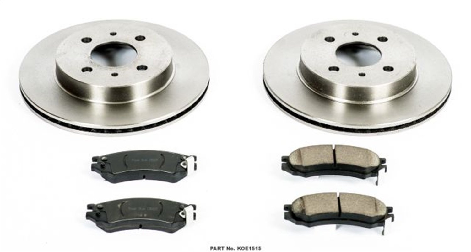 Autospecialty KOE1515 1-Click OE Replacement Brake Kit