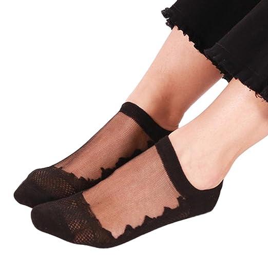 6d0ae50f35f Quartly New Women Fashion Sheer Silky Glitter Design Soft Transparent Sock  Transparent Silk Elastic Short Stockings