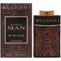 Bvlgari Man In Black Eau de Parfum Spray for Men, Essence (Limited Edition), 100ml