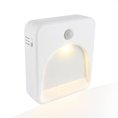 Coidak CO823 - Luz nocturna LED con sensor de movimiento, temperatura de color seleccionable (
