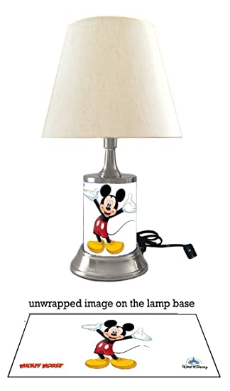 Amazon js mickey mouse lamp with shade sports outdoors js mickey mouse lamp with shade aloadofball Images