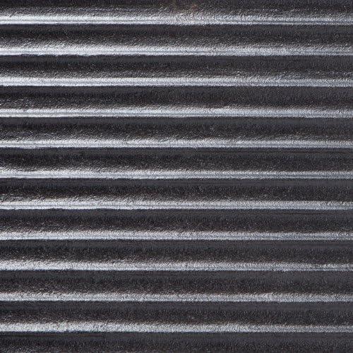 Ultranatura Mansfield Plancha para Barbacoa, Hierro Fundido, óptima conducción del Calor, con Asas, Negro, 28 x 49, 5 x 2 cm: Amazon.es: Jardín