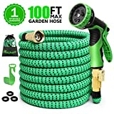 Best Garden Hose 50 Fts - 100ft Expandable Garden Hose, Water Hose with 3/4 Review