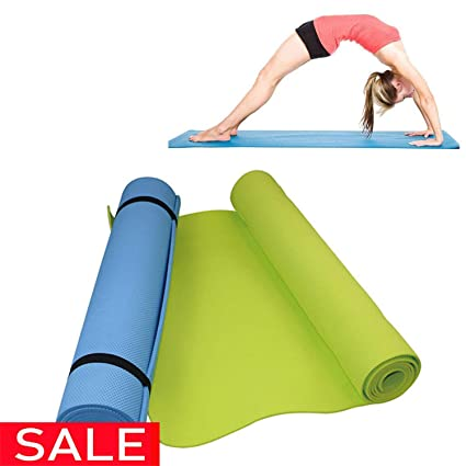 Amazon.com : Brave Rosemary 6MM Thick Comfort Foam Yoga Mat ...