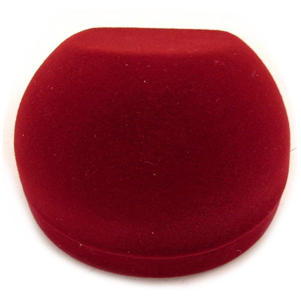 Estuche anillo de terciopelo rojo.: Amazon.es: Joyería