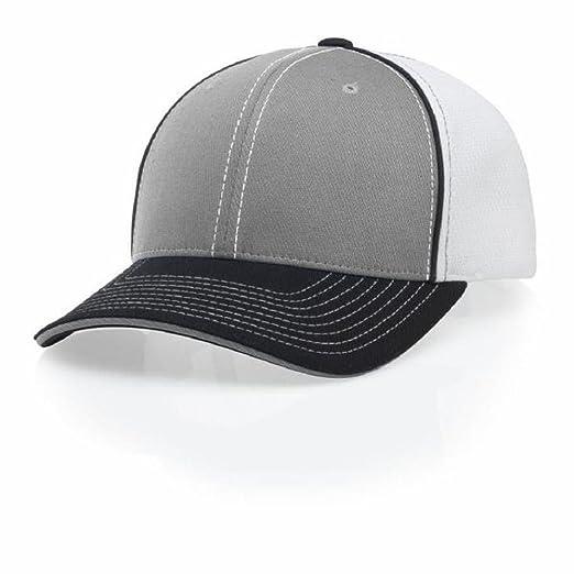 RICHARDSON PULSE 172 BASEBALL CAP FLEX FIT HAT 172 white back Athletic  Heather SM MD c55da70235f