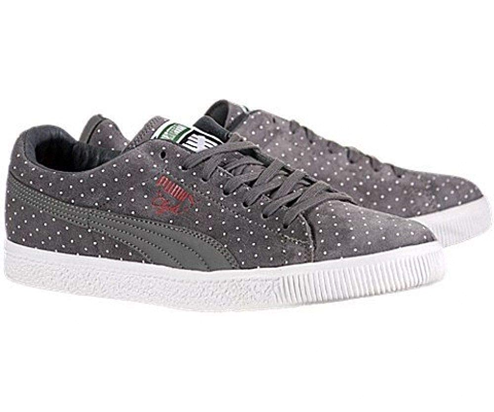 official photos d6a28 d1f43 Amazon.com | PUMA Clyde x Undefeated (Micro-Dot Pack) - Grey ...
