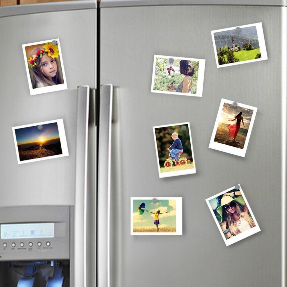 magpross 150 Pieces 5 x 1mm Multi-use Refrigerator Magnets for Refrigerator Science Crafts Projects