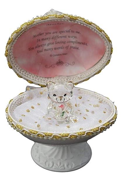 Día de la madre regalos Ideas cristal oso de peluche en ...