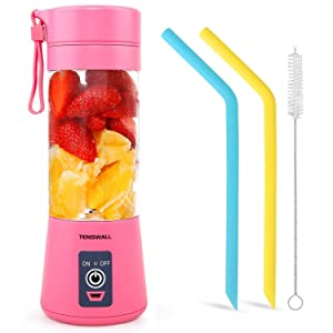 Tenswall Portable, Personal Size Blender Shakes and Smoothies Mini Juicer Cup