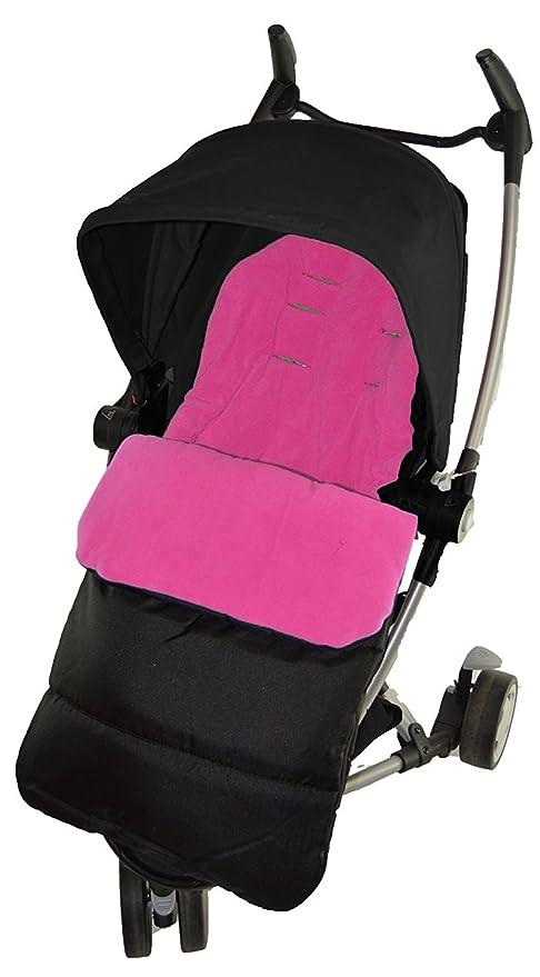 Saco/Cosy Toes Compatible con Quinny Yezz cochecito rosa ...