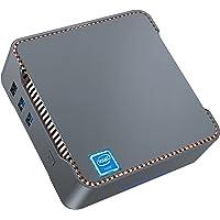 Mini PC, 8GB DDR4 + 256GB SSD Intel Celeron J4125 Procesador (hasta 2.7GHz) Windows 10 Mini Ordenador de Sobremesa, WiFi…