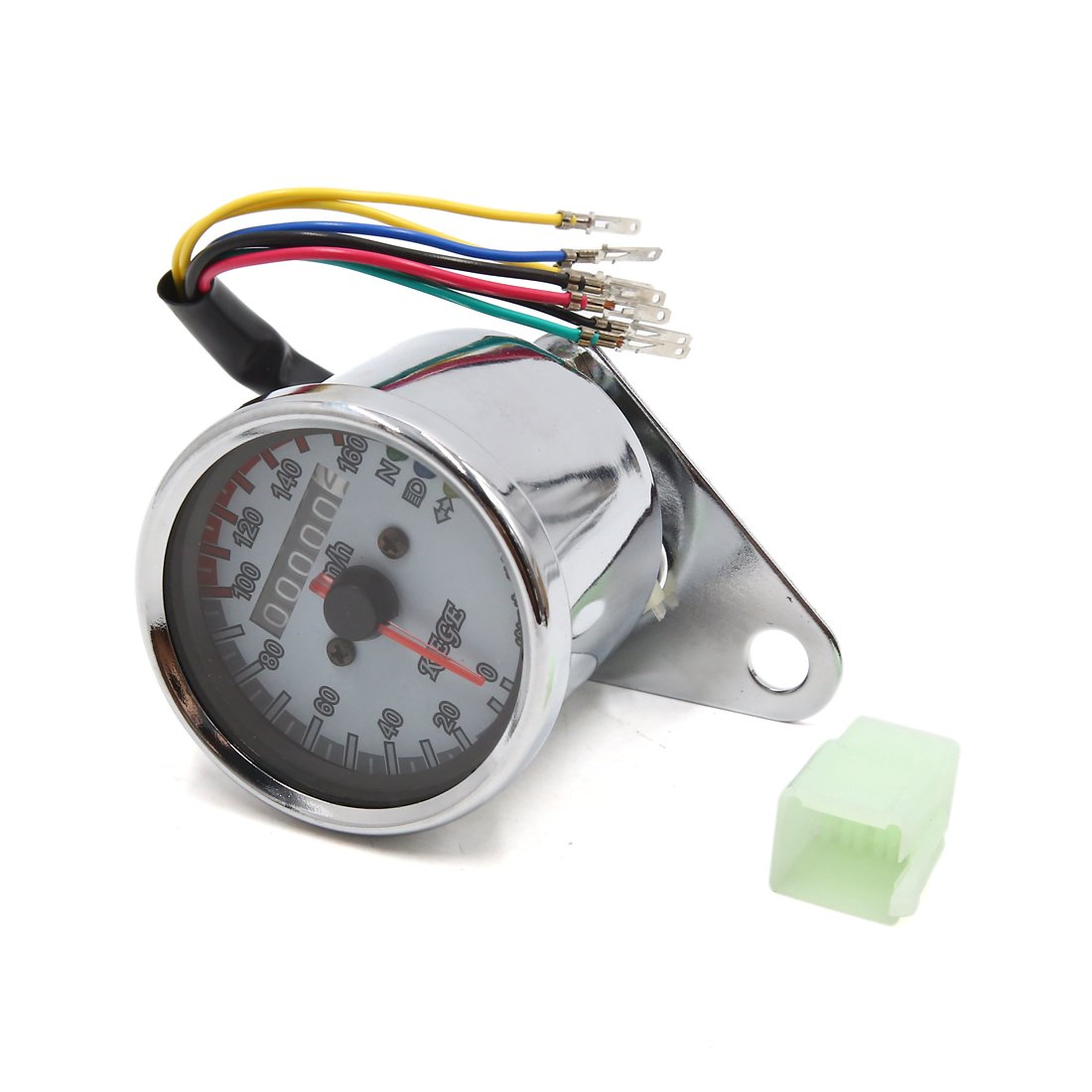 uxcell Universal Motorcycle LED Backlight Signal Odometer Speedometer Tachometer Gauge
